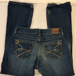 """BKE stretch jeans 28.5"""" inseam distressed"""